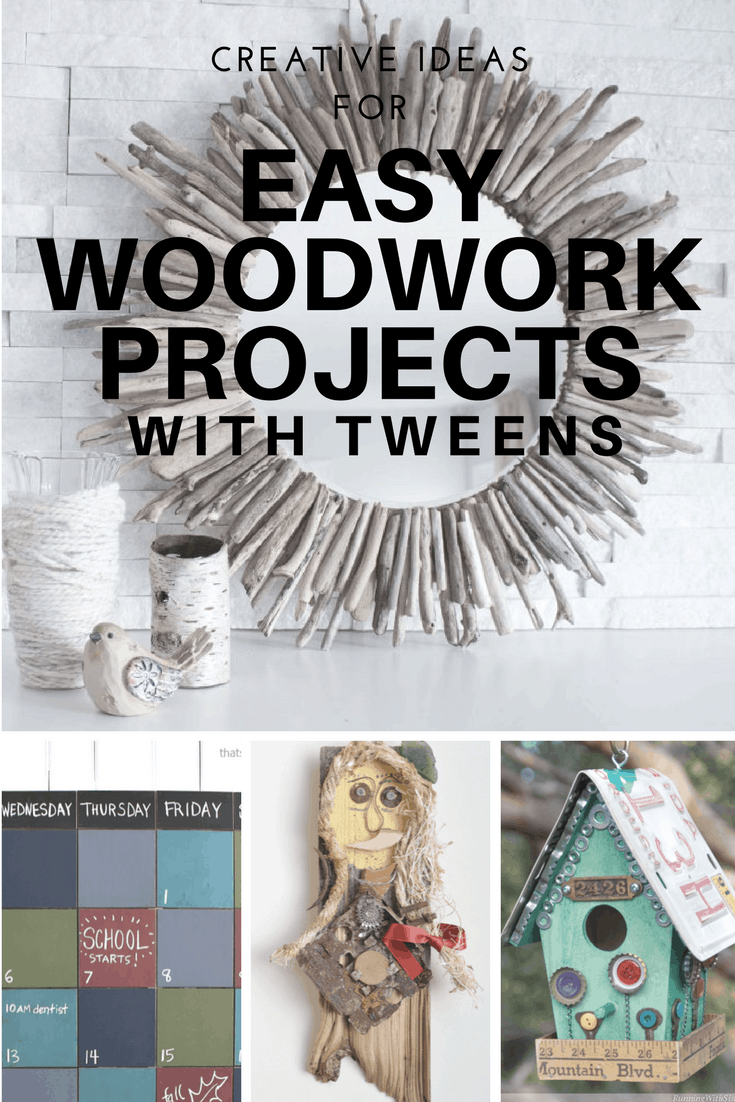 Easy DIY Woodwork Projects - Summer holidays with a tween 2