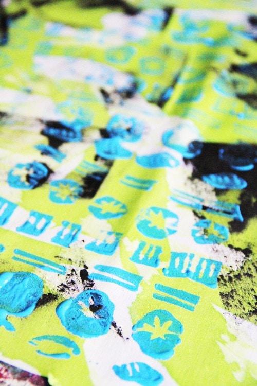 Exploring printing- crafting with tweens 8