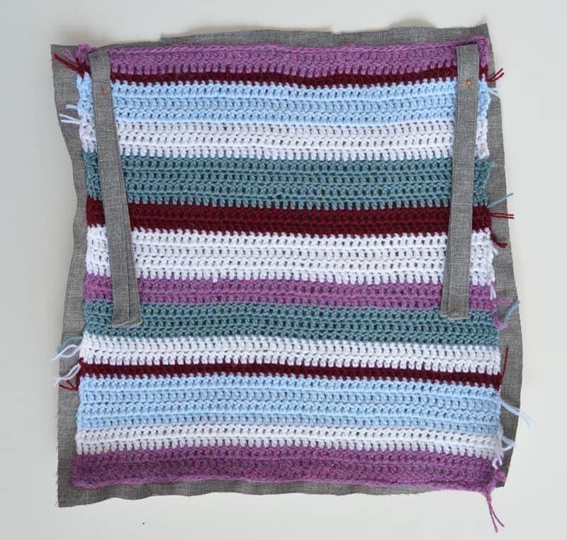 Easy Crochet Cushion- for the none crochetter 16