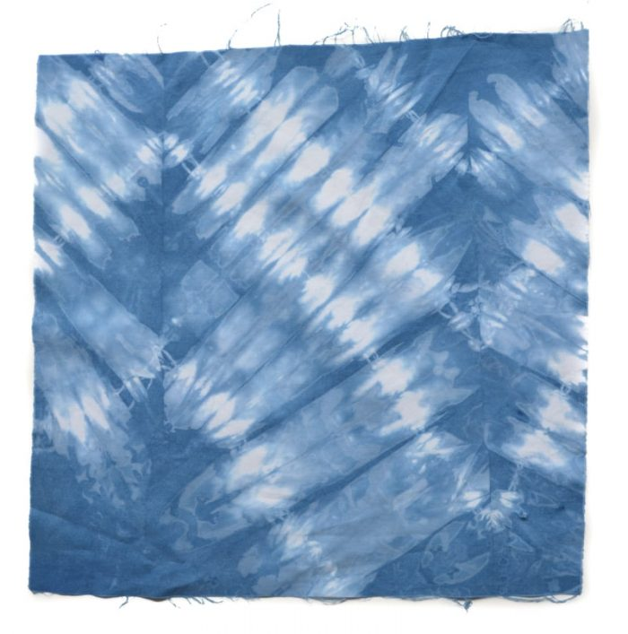 DIY Shibori Quilt, transform old duvet covers 10