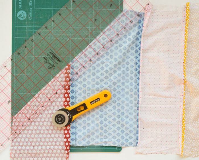 Update old towels with scrap fabric bias binding 8