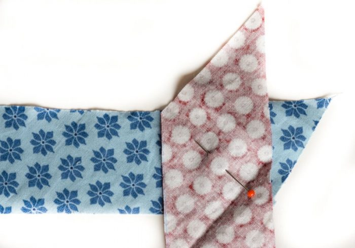 Update old towels with scrap fabric bias binding 10