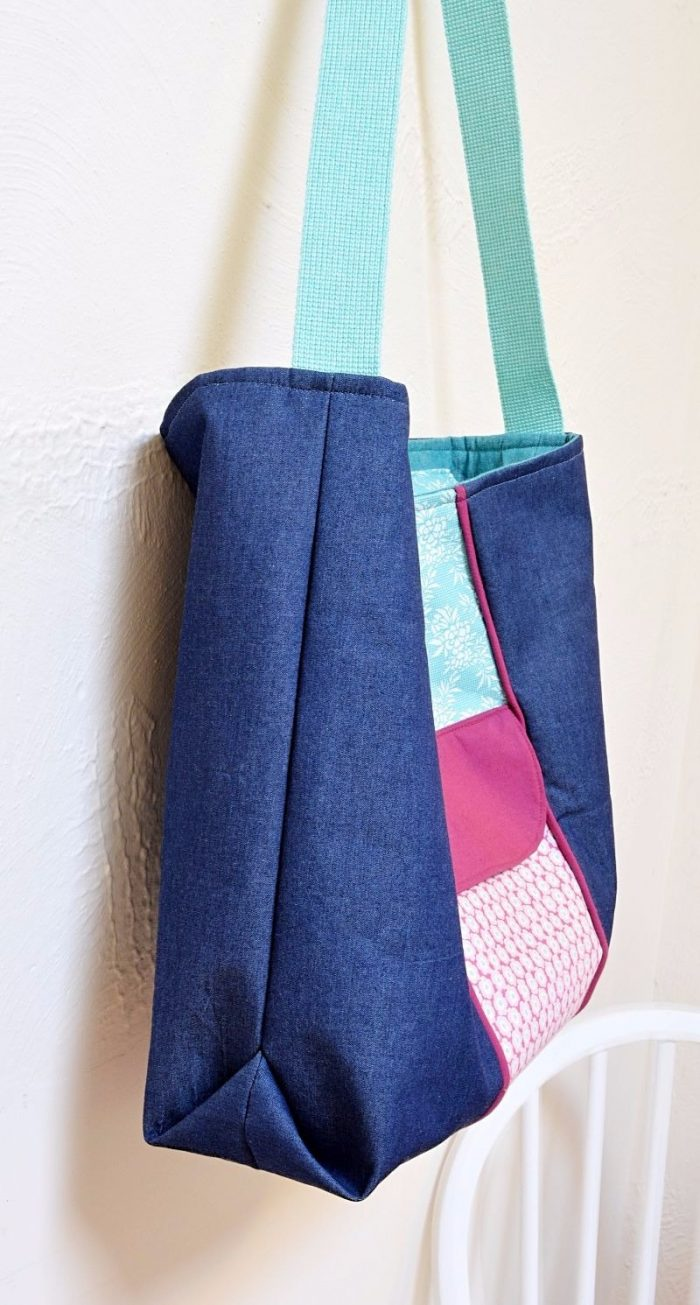 Tote Bag Pattern with Zipper, in just 7 steps 2
