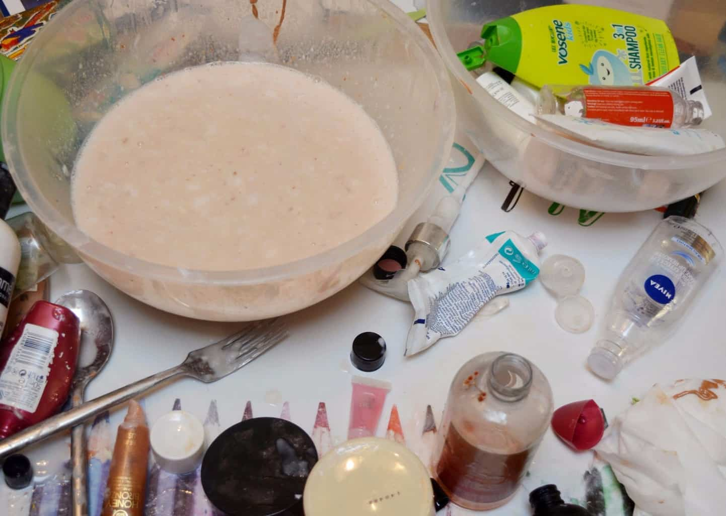 Decluttering with castile soap 4