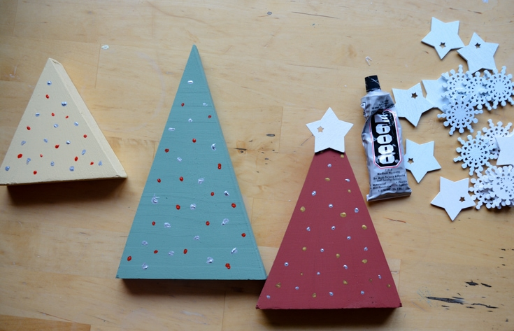 DIY Rustic Christmas Decorations- Transform Wood Offcuts 10