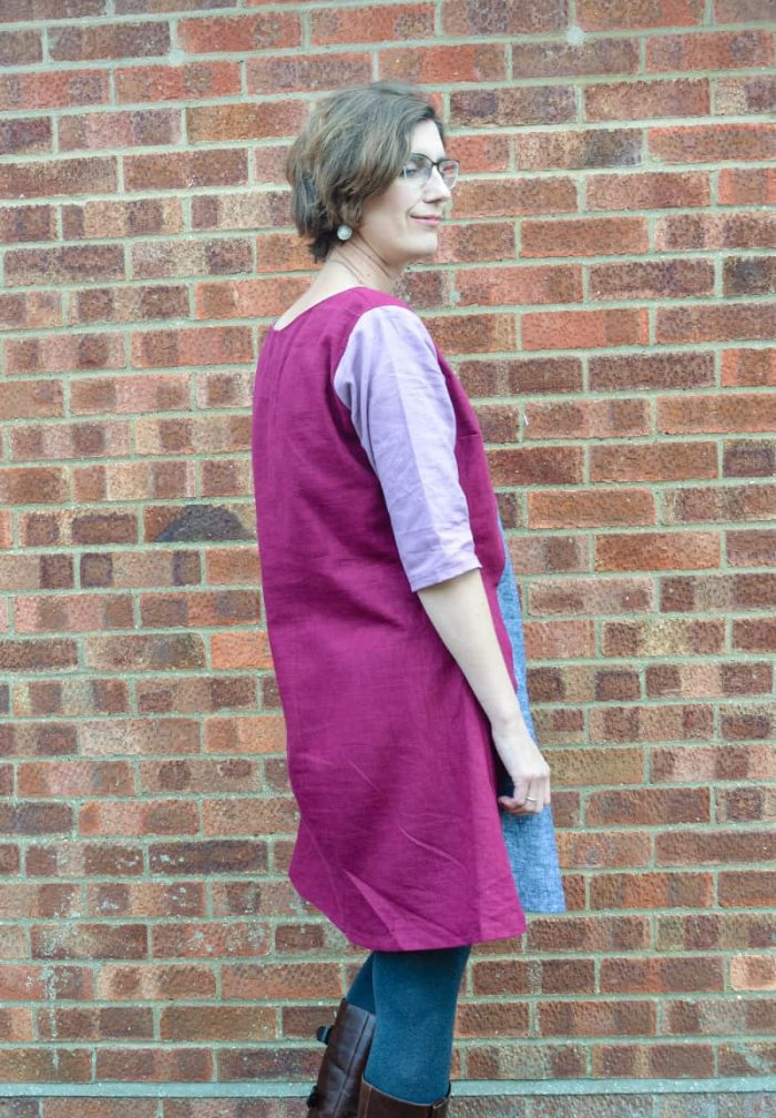 Colourblock Dress Pattern review Sew Different