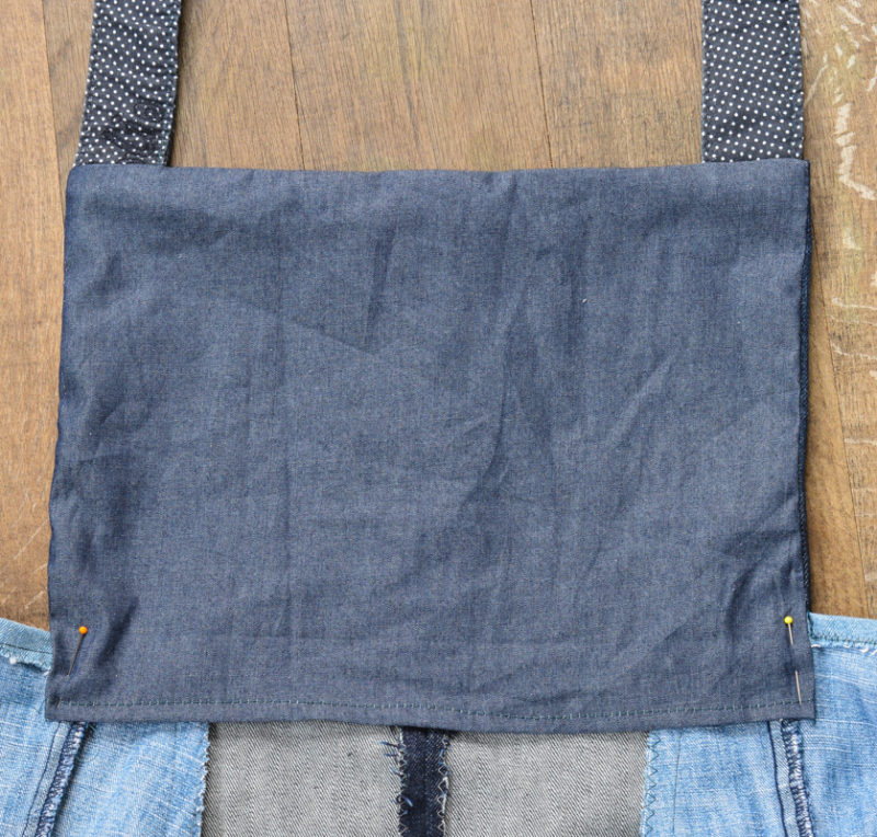 Scoop Pinafore Pattern Review, what can you make with four pairs of jeans? 24