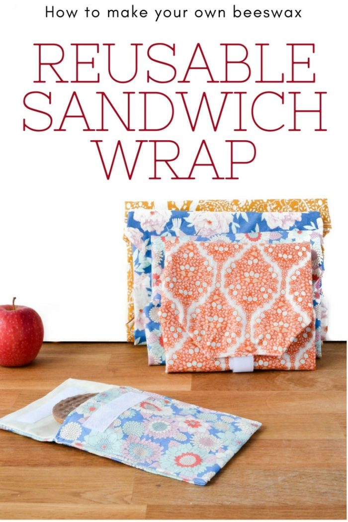 How to make a reusable sandwich wrap 32