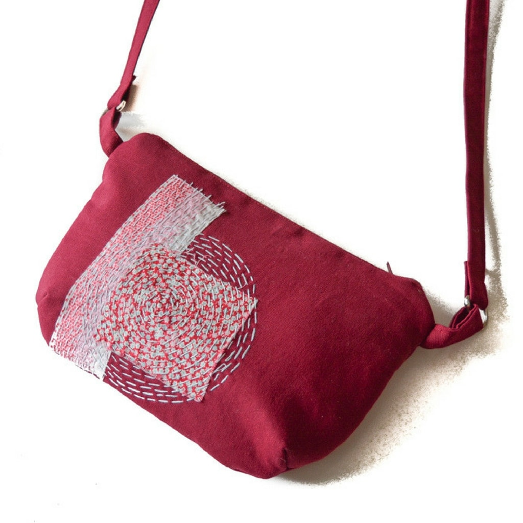 Boro Cross Body Bag Pattern - Free!
