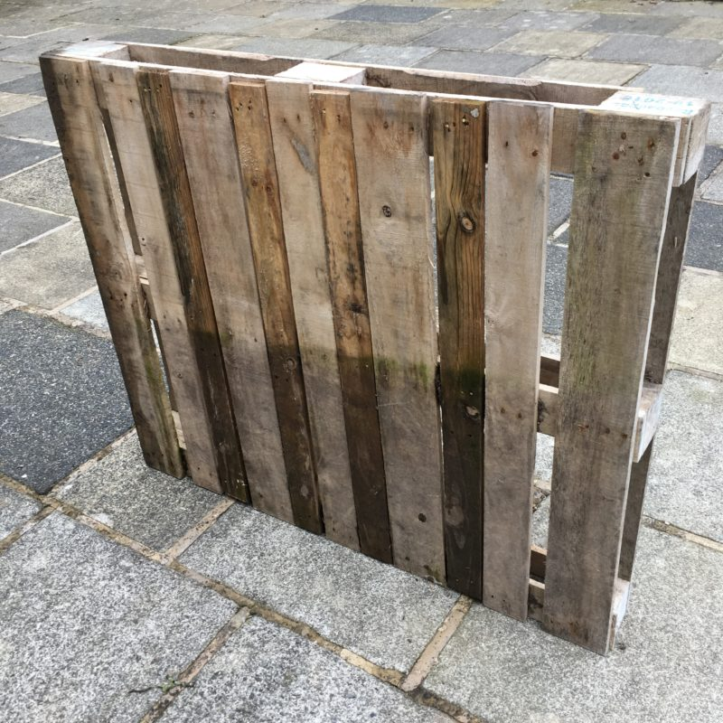 Pallet for DIY pallet compost bin