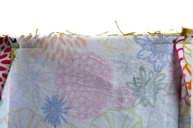 Free Reversible Toddler Bag Pattern. Step by step tutorial.