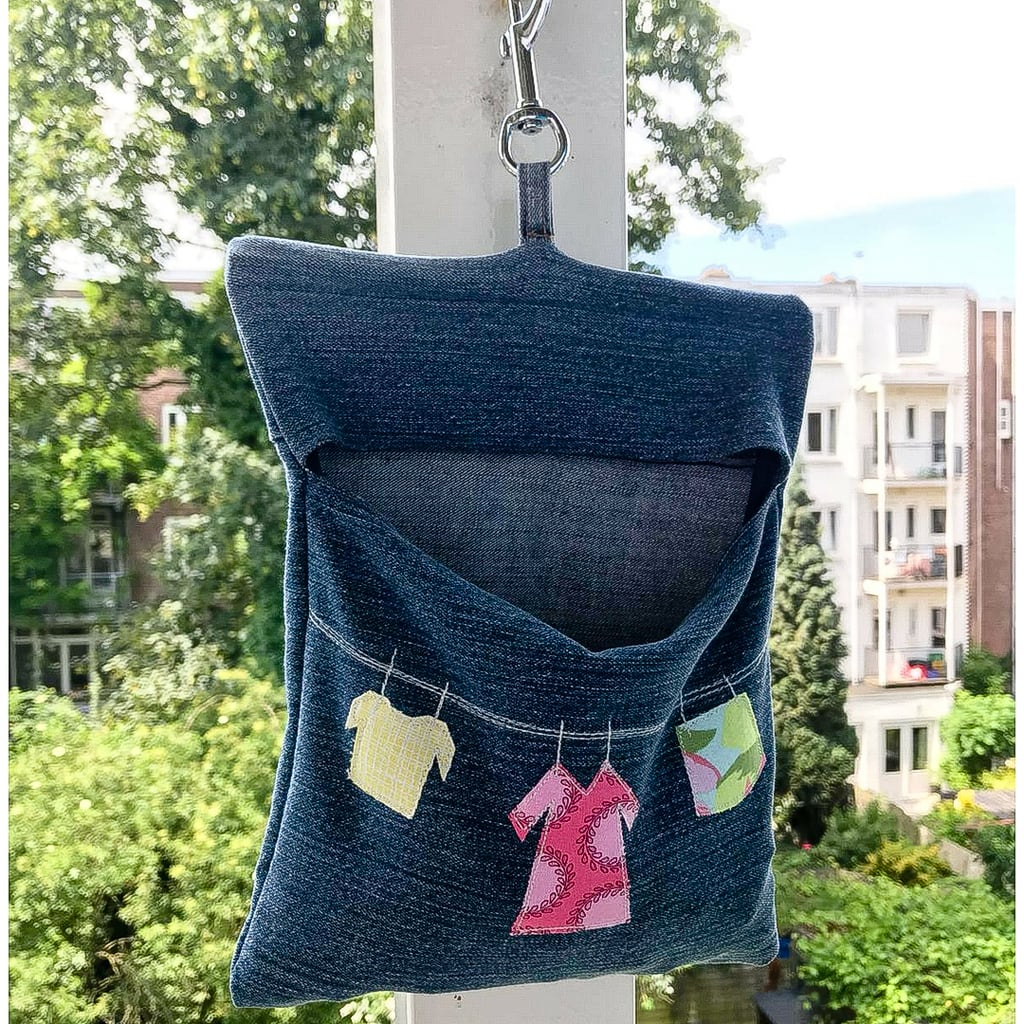 Denim Peg Bag Pattern
