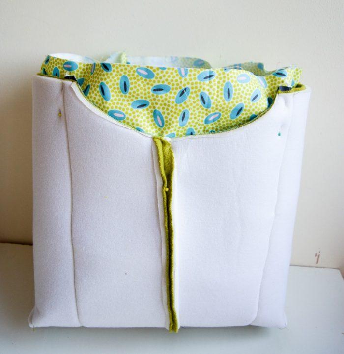 Spring Blooms Tote Bag - Free Pattern, Wool Tote Purse 28