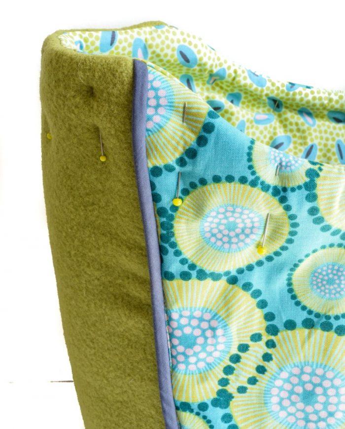 Spring Blooms Tote Bag - Free Pattern, Wool Tote Purse 30