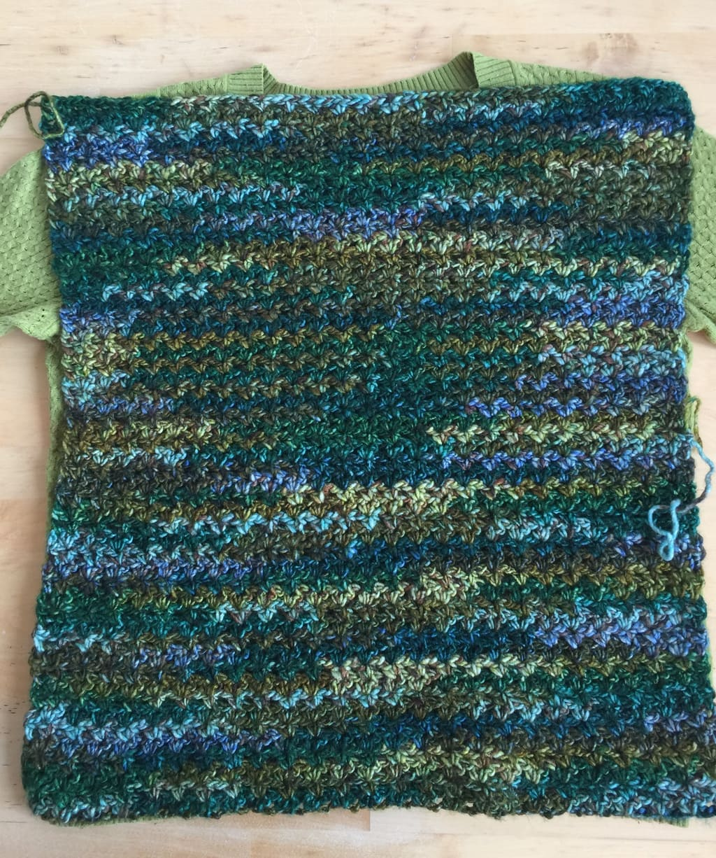 The Easiest Pullover Crochet Sweater - Pattern review 6