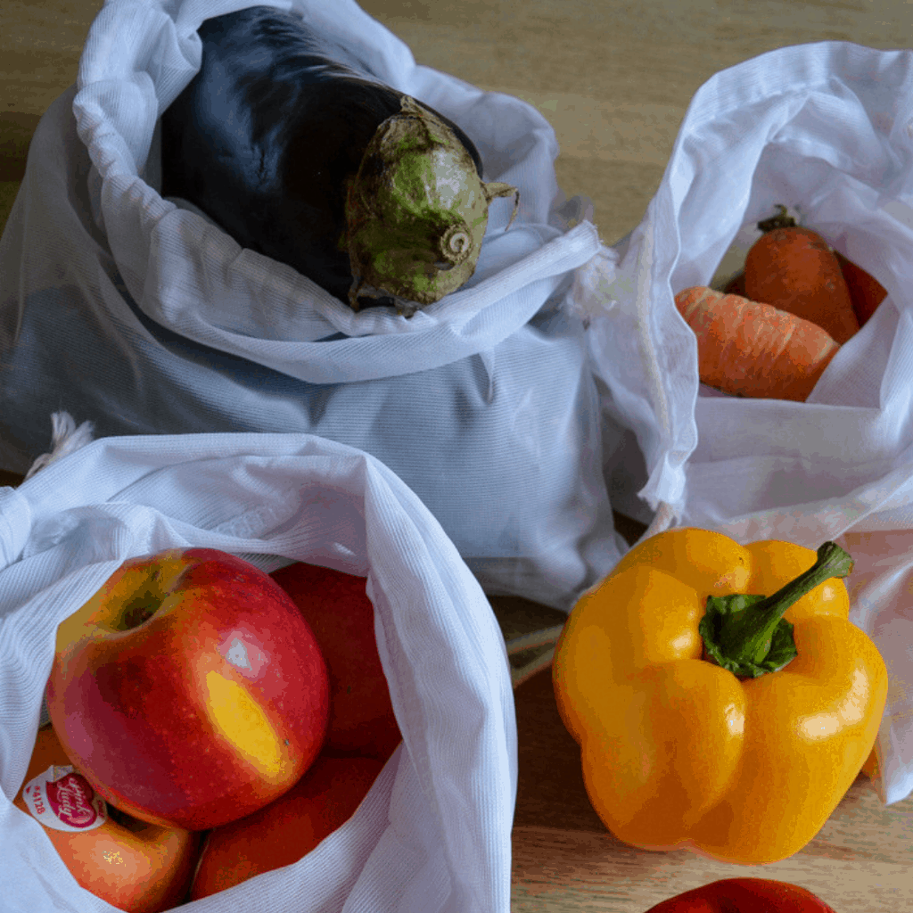 How to makenet bags for fruit and vegetables