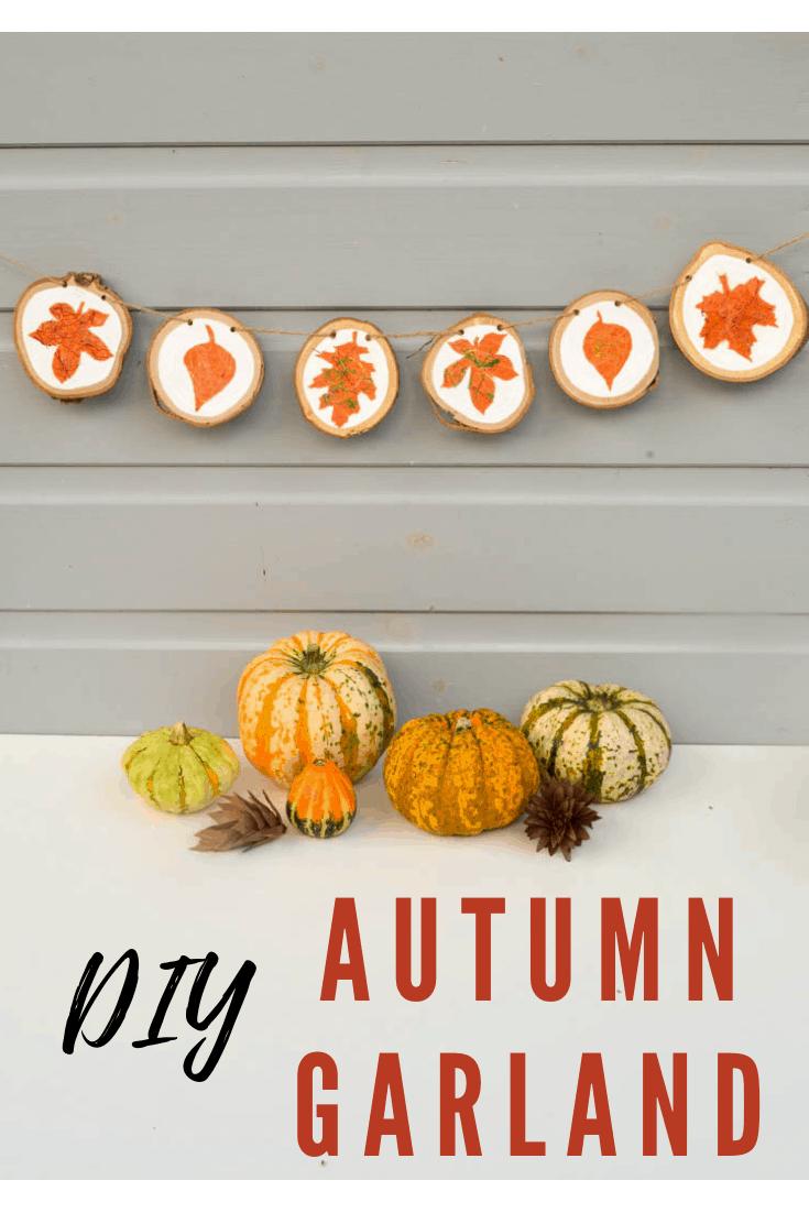 DIY Autumn Garland 8