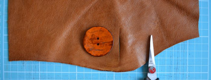 Leather DIY Clutch Purse 22
