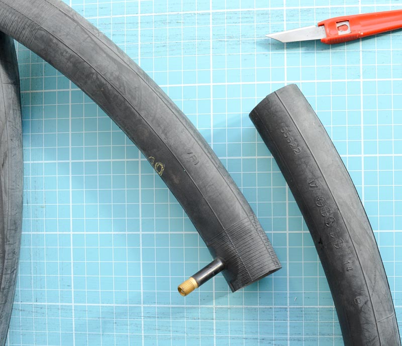 DIY Wallet - upcycle a bicycle tyre 4
