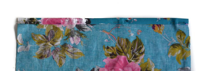 Easy DIY envelope cushion with pom-pom trim 8