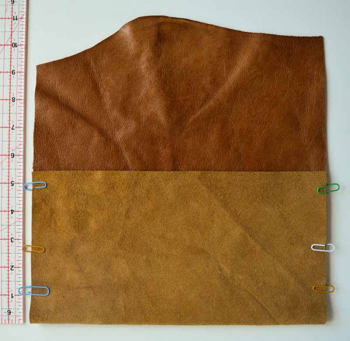 Leather DIY Clutch Purse 16