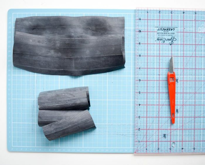 DIY Wallet - upcycle a bicycle tyre 6