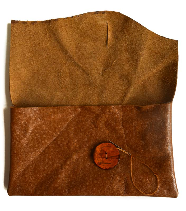 Leather DIY Clutch Purse 24