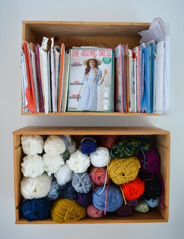 How to organize a sewing room on a budget 6