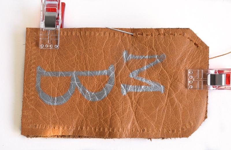 DIY luggage tags 18