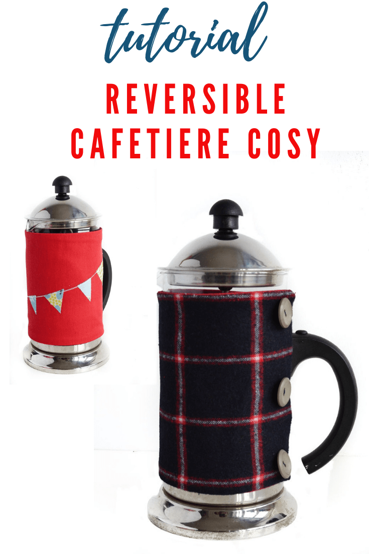 Reversible Cafetiere Cosy Pattern 6