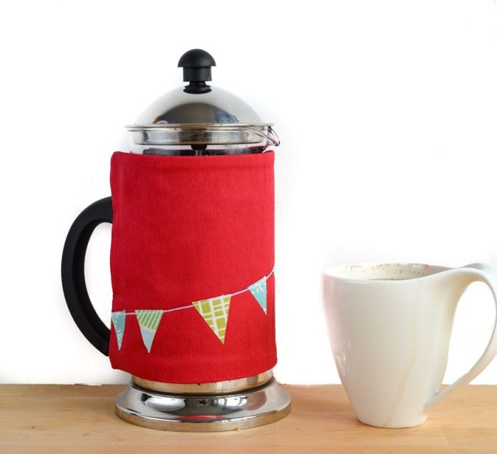 Reversible Cafetiere Cosy Pattern 2