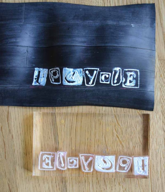 DIY Wallet - upcycle a bicycle tyre 14