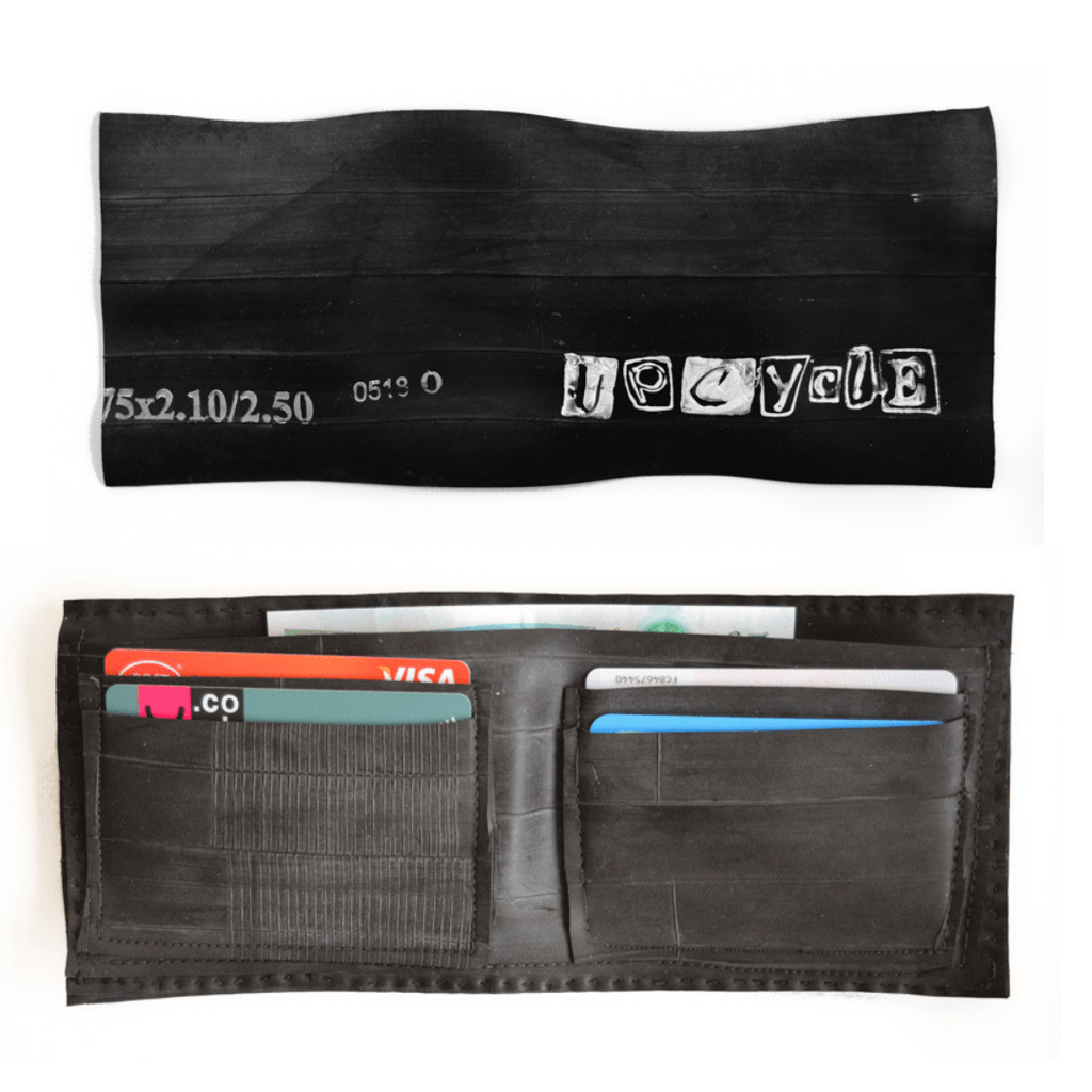 DIY Wallet - upcycle a bicycle tyre