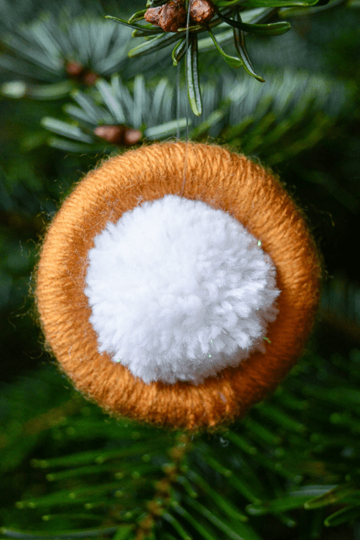 DIY upcycled Christmas decorations, 5 Great ideas for Repurposing curtain rings 12