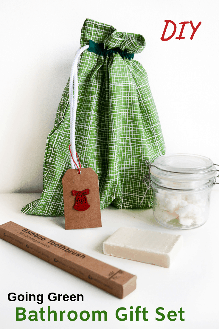 Last minute gift - Going green toiletry set 2
