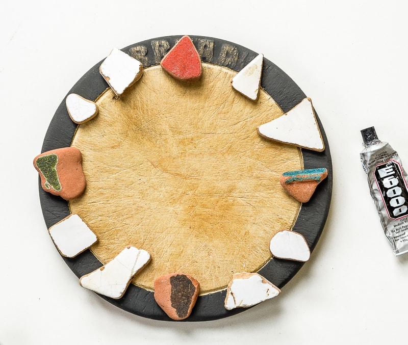 How to make a DIY cutting board clock 20