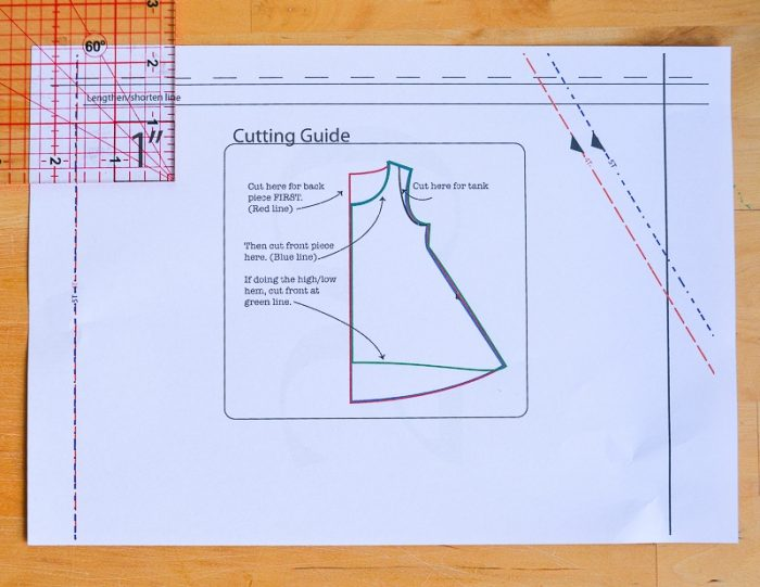 How to assemble a PDF pattern 2