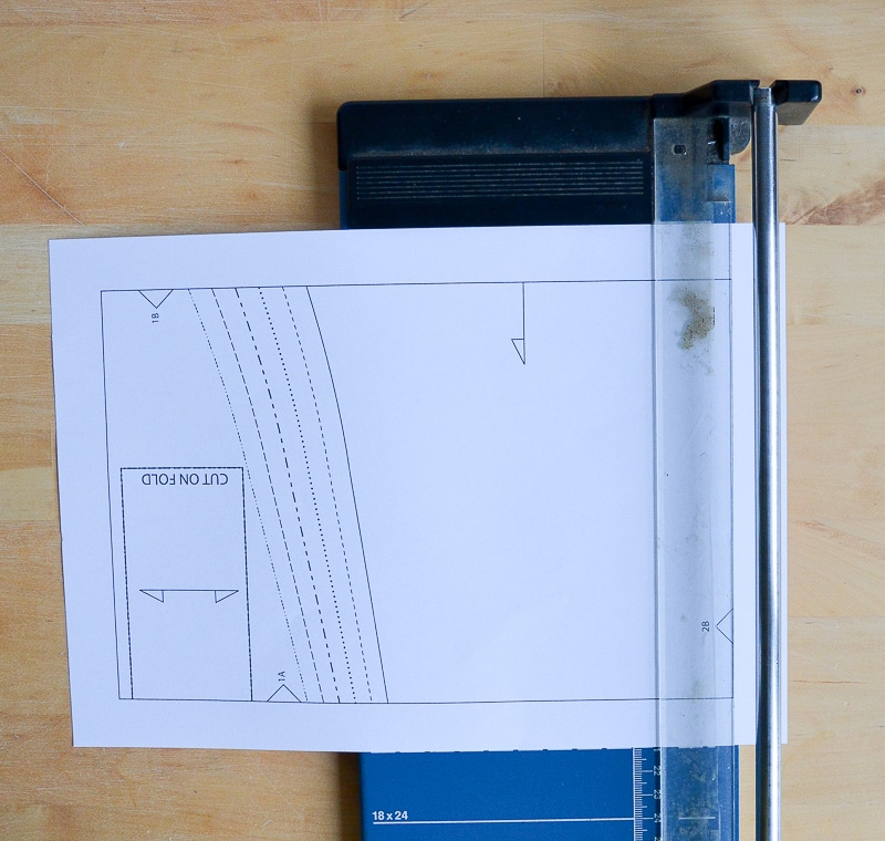 How to assemble a PDF pattern 6