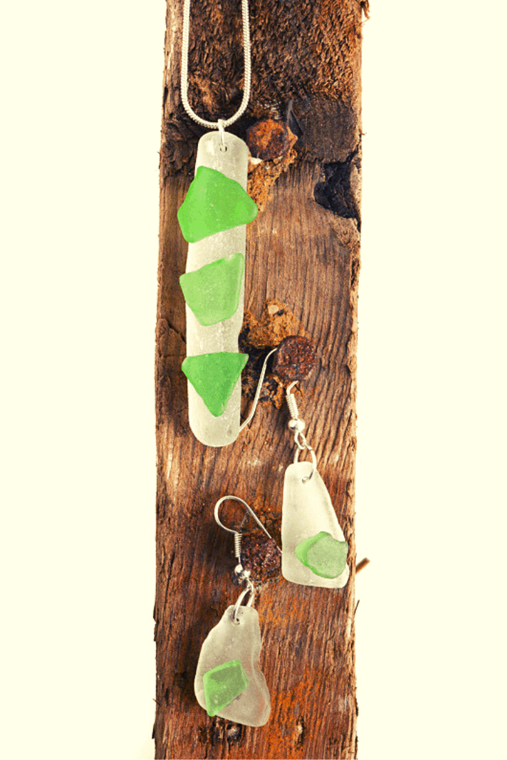 How to make sea glass jewelry. Learn how to drill sea glass so you can DIY some jewlery, create your own necklace #seaglass #DIYjewelry