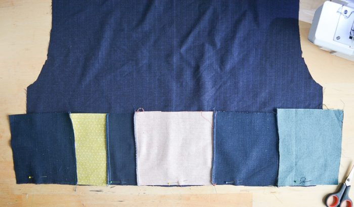 Use your fabric scraps to make a top 10