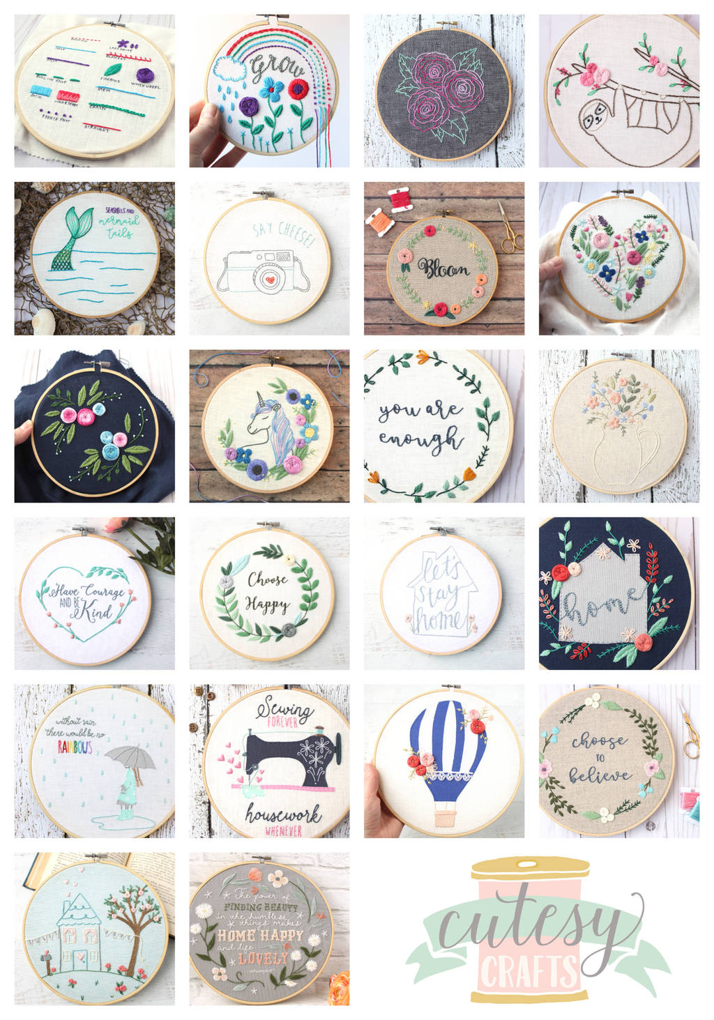 Sweet Home Embroidery Book Review 8