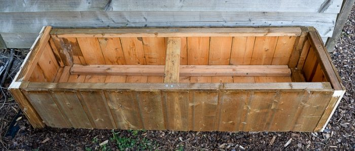 DIY Garden planters - upcycle your old garden shed 22