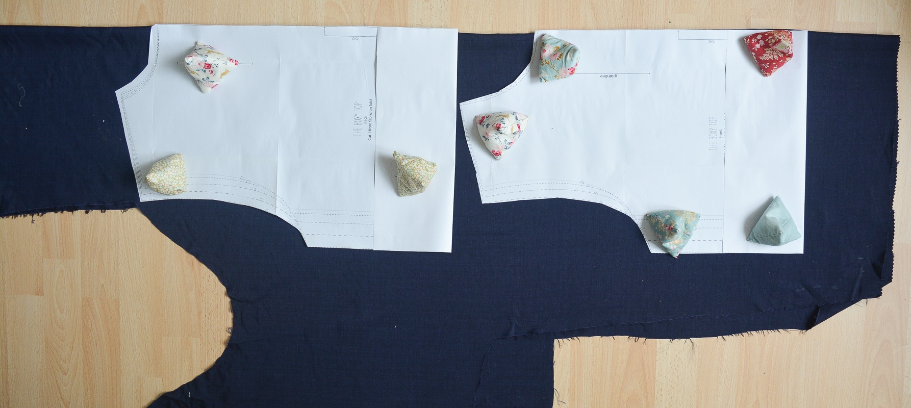 Use your fabric scraps to make a top 6