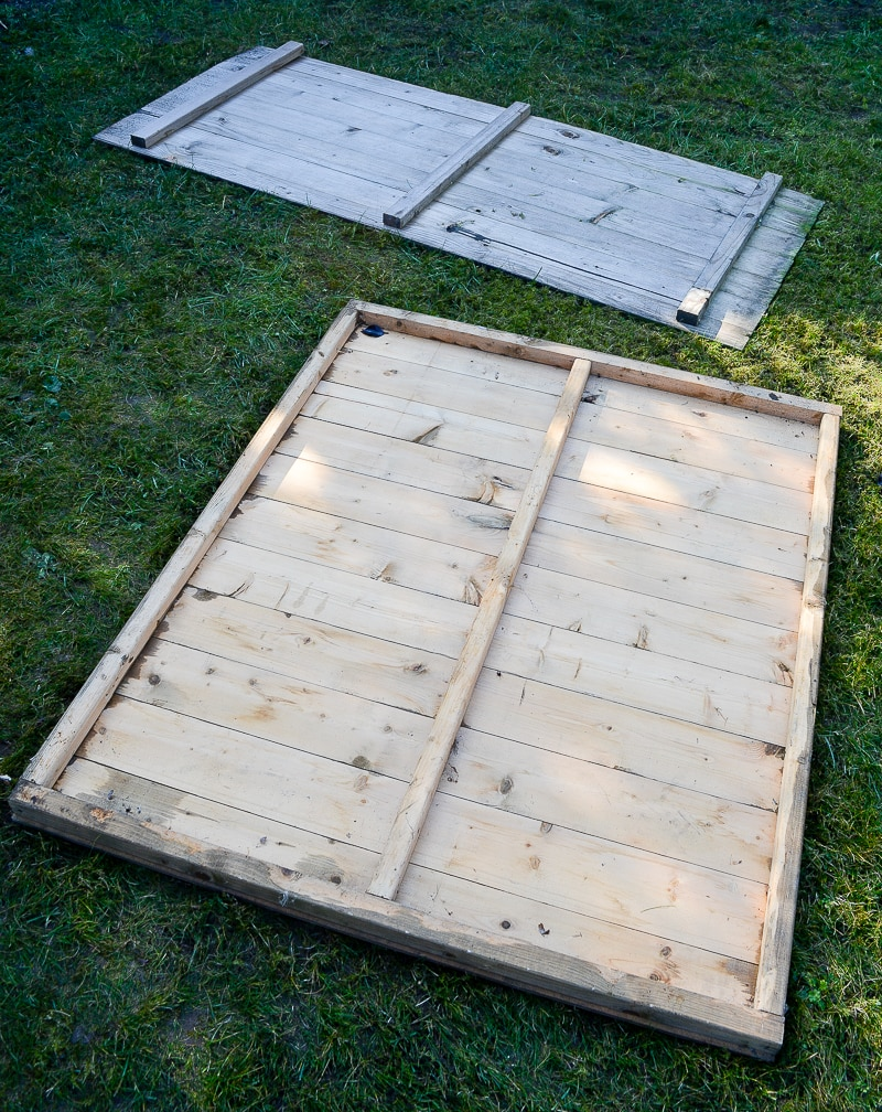 DIY Garden planters - upcycle your old garden shed 4