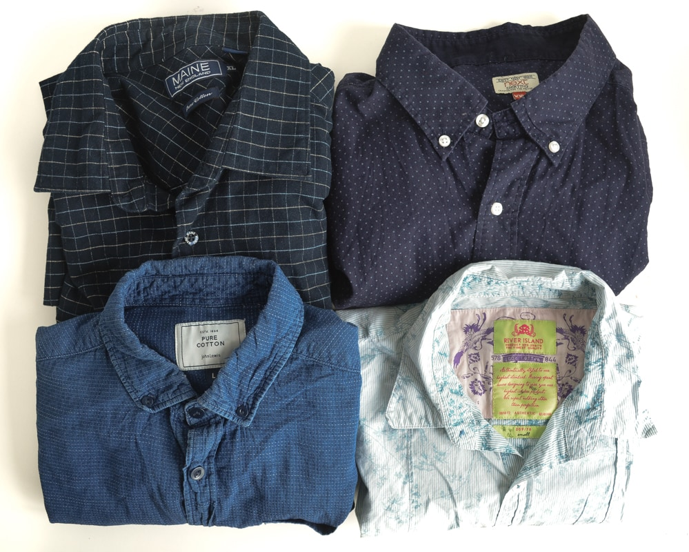 What do you refashion men's shirts into? Refashioning clothes into a Kamino 2