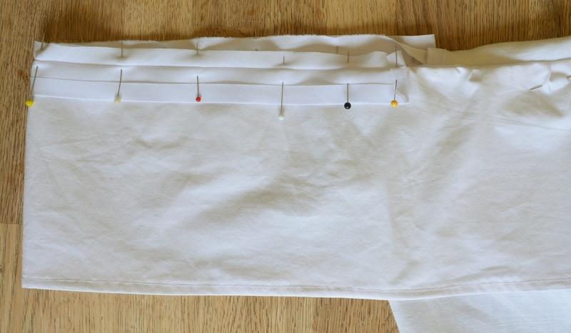 Mens button down shirt refashion - womens off the shoulder top 28