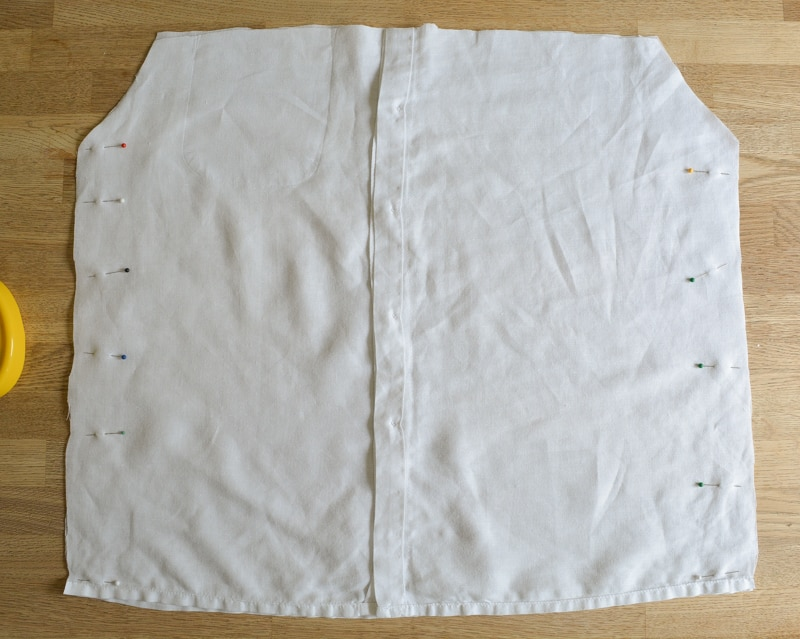 Mens button down shirt refashion - womens off the shoulder top 16