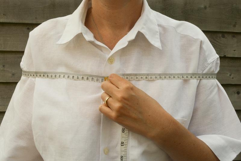 Mens button down shirt refashion - womens off the shoulder top 10
