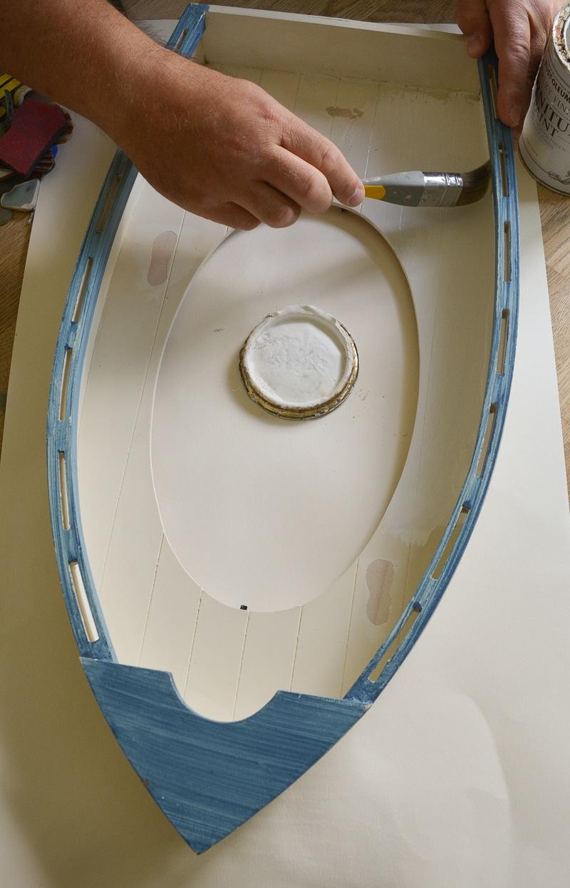 Easy DIY Sea Glass Mirror - beach themed decor 14