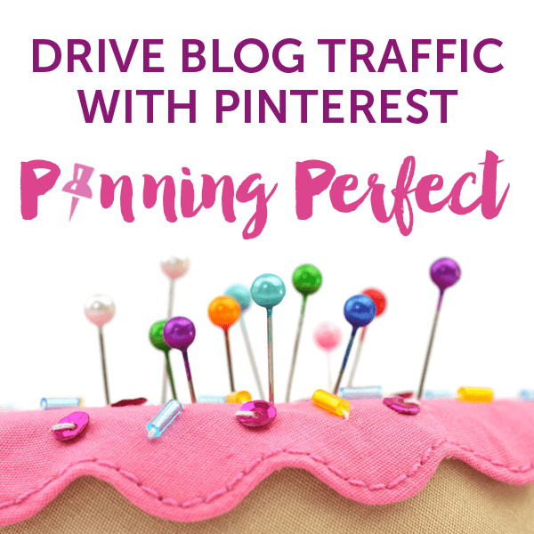Learn how to use Pinterest to maximise your traffic with the Pinning Perfect Course 2